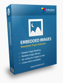 WordPress Newsletter Plugin – Embedded Images