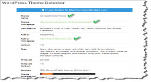 WordPress Theme Detector | 100% Free SEO Tools
