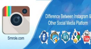 Difference Between Instagram and Other Social Media Platform