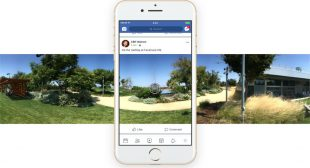 How to capture the 360-degree image with Facebook
