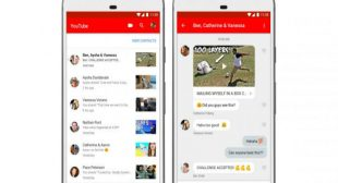 YouTube Added Video Sharing and Chatting Feature To The App