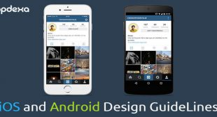 Difference in the design concept of Android and iOS