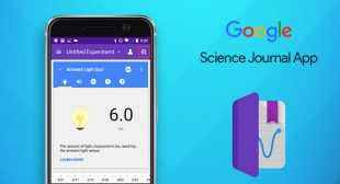 Science journal is a unique application for iOS platform started by Google
