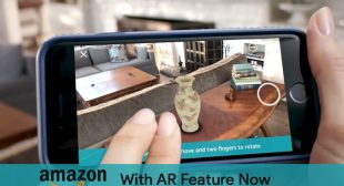 "Amazon let the users to overlay products at their place virtually with ""AR view"""