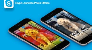 Choose the One You Like From Thousands of Photo Effect Stickers Now Available on Skype Mobile App.