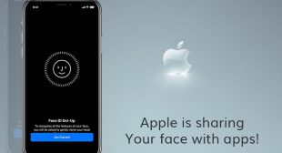 Users Alert: Apple Is Planning To Share Face Mapping iPhone X Data