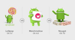 Comparing Different Android Versions: Lollipop Vs Marshmallow Vs Nougat