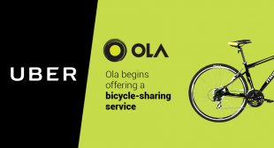 Ola Turned to Pedal-Power For Offering Bike-Sharing Service