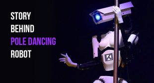 Here's Everything You Need To Know About The Pole-Dancing Robot