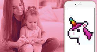 Pixel Art Coloring Book App's Craze among the Children