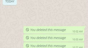 Listen Up, you Can Now See Those Deleted Whatsapp Messages