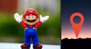 Mario Day  Celebration On Google Map