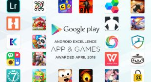 list of Android Excellence apps and games for Q2 2018