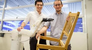 Robot can build IKEA chair in 20 min