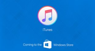 Apple iTunes now available on windows store