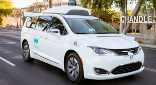 Google's self-driving Waymo minivans collided with another vehicle