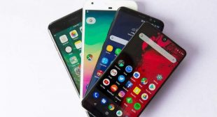Find the list of top 10 smartphone in 2018