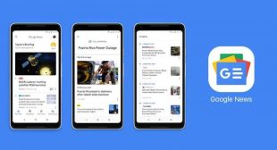 Google lauched AI driven google news app for iphone