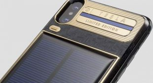 Order your Solar powered smartphone iPhone X Tesla now
