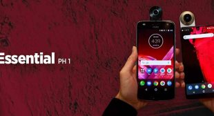 Check out the review and specification of Essential PH 1 smartphone