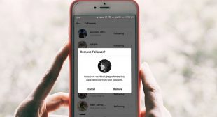 Instagram public account users could remove followers