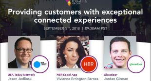 A webinar to throw light on consumers experience with brands.