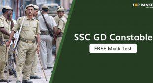 SSC GD Constable Mock Test