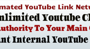 How To Create Automated YouTube Channel Link Networks