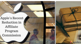 The recent reduction in Apple's affiliate program commission