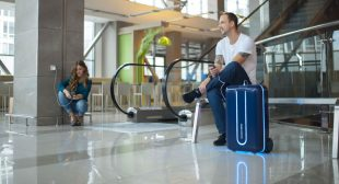 Travelmate is the world's first AI equipped suitcase