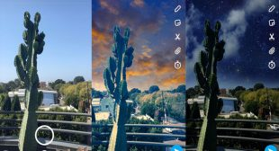How to use Snapchat Sky Changing Filter