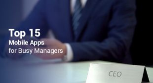Best 15 Apps for Managers 2017