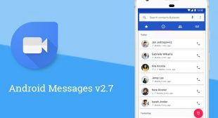 Google Released New Version For Android Messages With Google Duo Option