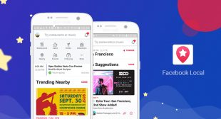 Facebook Relaunches its Events App as Facebook Local
