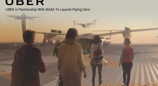 Uber NASA Flying Taxi: A Delight to Uber Users in LA