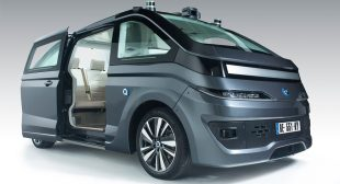 The French Company Navya Showcased the Launch of its Latest Autonomous Vehicle- The Autonom Cab