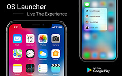 iPhone X iLauncher for Android Phone Users