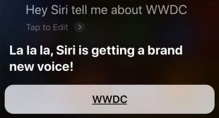 Apple Siri is coming with new voice