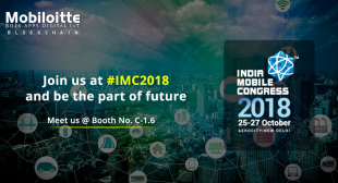 Mobiloitte at India Mobile Congress 2018