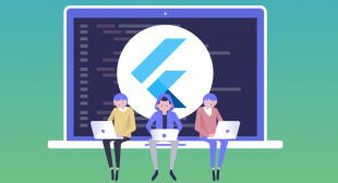 Flutter apps can be developed using Windows, MacOS, and Linux
