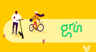 Electric-scooter startup Grin is going to expand his business with Yellow.