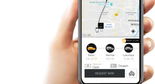 Kakao Taxi booking app clone
