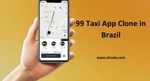 99 Taxi App Clone in Brazil