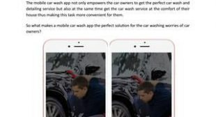 The Perfect Solution for Car Washing Worries of Users – Mobile Car Wash App