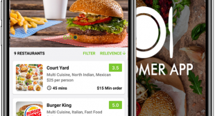 Get healthy meal delivered to your doorstep with food delivery app