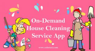 On demand house cleaning app development