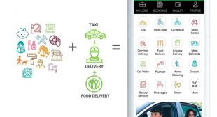 Enjoy the enhanced services with one single app: Gojek clone app