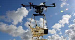 Drone Delivery Service Solution with App Based System