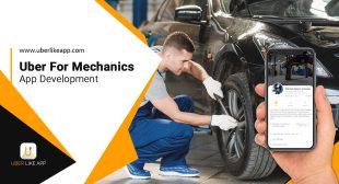 Uber for Mechanics Services App Development