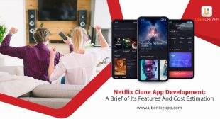 Netflix clone app development: A brief of its features and cost estimation